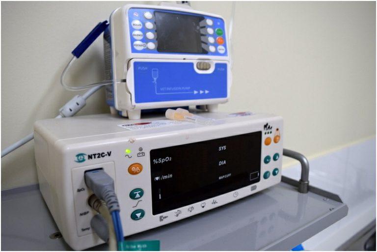 Curtin Veterinary Clinic monitors