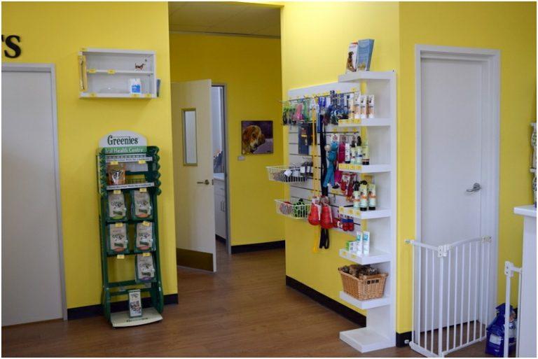 Curtin Veterinary Clinic waiting room